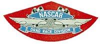 HOT ROD Sticker NASCAR DRAG RACE DIVISION Sticker
