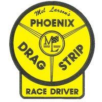 HOT ROD Sticker PHOENIX DRAG STRIP RACE DRIVER Sticker