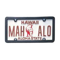 USA Custom Order License Plate - Hawaii Aloha State