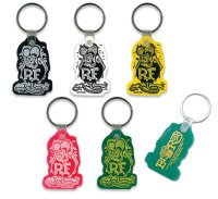 Rat Fink Soft Rubber Key Ring