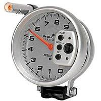 Ultra Light Single  Range Silver Tachometer 5inch 9000RPM
