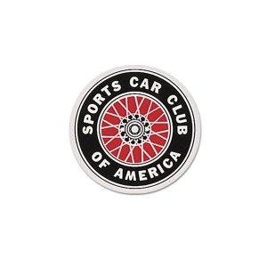 Photo1: SCCA Sticker 12cm