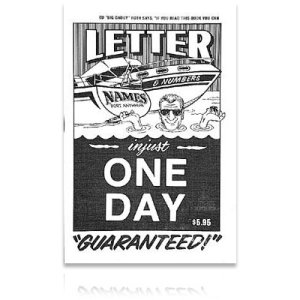 Photo1: Ed Roth Book One Day Letter