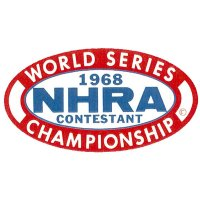 HOT ROD Sticker 1968 NHRA WORLD SERIES CHAMPIONSHIP CONTESTANT Sticker