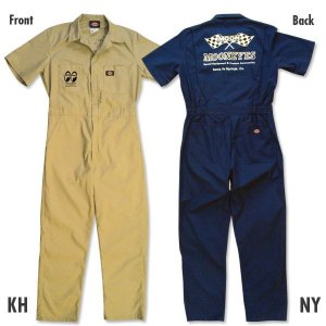 Photo1: MOON Coverall Short Sleeve
