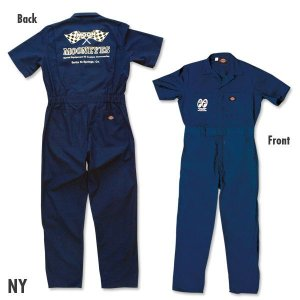Photo2: MOON Coverall Short Sleeve