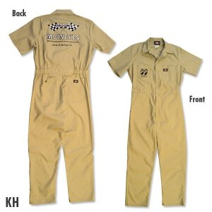 Photo3: MOON Coverall Short Sleeve