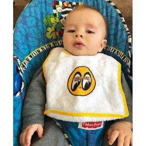 Photo1: MOON Snap  Baby Apron