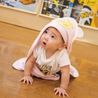 MOON Hooded Towel with Ears