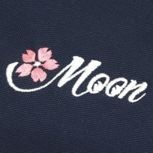 Photo3: Sakura MOON Polo Shirt