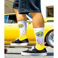 Flamin' MOON Socks
