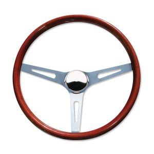 "Photo1: 15"" Wood Steering Wheel Slot"