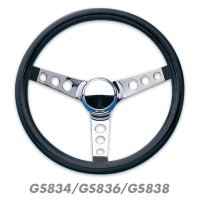 Grant Classic Black Foam Steering Wheel 30/32/34cm