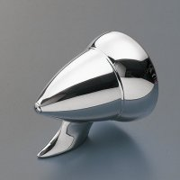 Bullet Style Chromed Mirror