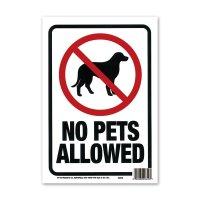 NO PETS ALLOWED