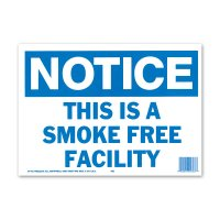 NOTICE SMOKE FREE FACILITY