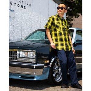 Photo1: MOON x DIXXON Bamboo Short Sleeve Shirt