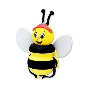 Photo1: Bee Antenna Topper