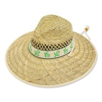 Honu Hat Lime Ribbon