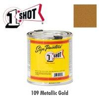 Metallic Gold 109 - 1 Shot Paint Lettering Enamels 237ml