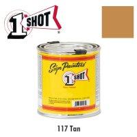 Tan 117 - 1 Shot Paint Lettering Enamels 237ml
