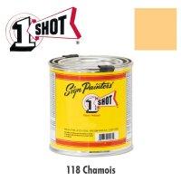 Chamois 118  - 1 Shot Paint Lettering Enamels 237ml