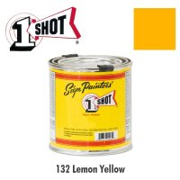 Lemon Yellow 132 - 1 Shot Paint Lettering Enamels 237ml