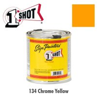 Chrome Yellow 134 - 1 Shot Paint Lettering Enamels 237ml