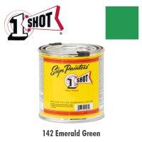 Emerald Green 142 - 1 Shot Paint Lettering Enamels 237ml