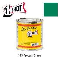 Process Green 143 - 1 Shot Paint Lettering Enamels 237ml