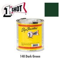 Dark Green 148 - 1 Shot Paint Lettering Enamels 237ml
