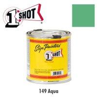 Aqua 149 - 1 Shot Paint Lettering Enamels 237ml