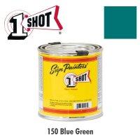 Blue Green 150 - 1 Shot Paint Lettering Enamels 237ml