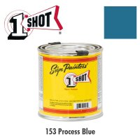 Process Blue 153 - 1 Shot Paint Lettering Enamels 237ml