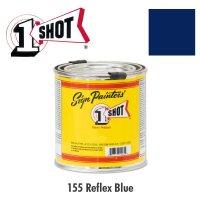 Reflex Blue 155 - 1 Shot Paint Lettering Enamels 237ml