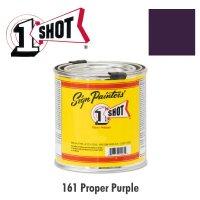 Proper Purple 161 - 1 Shot Paint Lettering Enamels 237ml