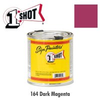 Dark Magenta 164  - 1 Shot Paint Lettering Enamels 237ml