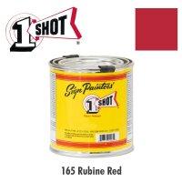 Rubine Red 165  - 1 Shot Paint Lettering Enamels 237ml