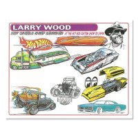 Larry Wood Design Hot Wheels Handout