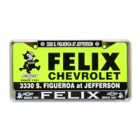 Felix License Frame Us Size
