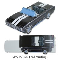 Classic Cruiser Cartons: '64 Ford Mustang Conv.