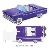 Classic Cruiser Cartons: '55 Ford Thunderbird
