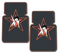 Betty Boop Star Rubber Floor Mat