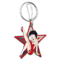 Betty Boop Star Key Chain