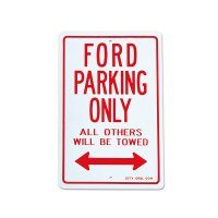"Parking Signboard ""FORD"""