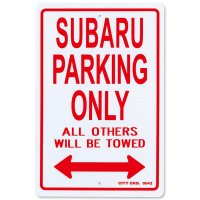 "Parking Signboard ""SUBARU"""