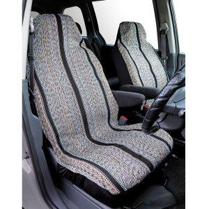 Photo1: Saddleman Bucket Seat Cover Black
