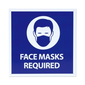 Photo2: Face Masks Required Sign