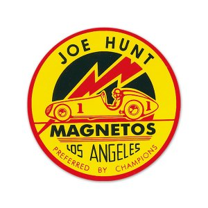 Photo1: HOT ROD Sticker Joe Hunt Sticker
