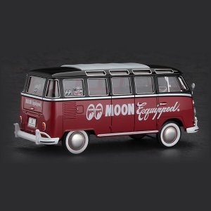 Photo2: 1/24 Model Car MOON Equipped VW Type2 Micro Bus